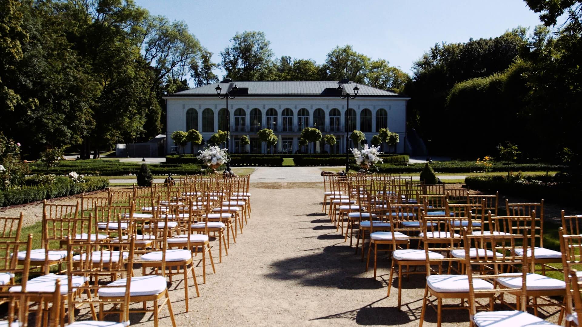 ceremonia w pałacu mała wieś